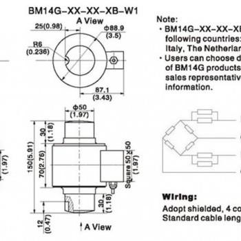 Тензодатчики стержневого типа - BM14G